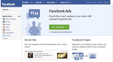 Facebook adv social