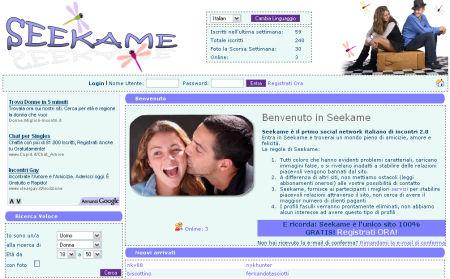 seekame incontri gratis social network web 2.0