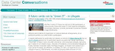 fujitsu siemens socialware corporate blog