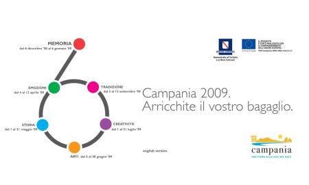 regione campania campagna 2008 turismo