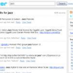 Twitter Search: nuova applicazione o ipotesi di business model?