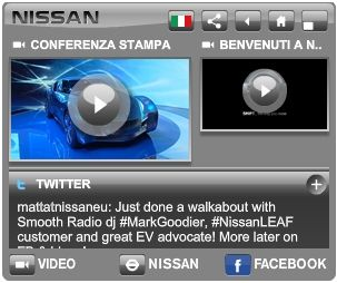 social banner nissan leaf advertising 2.0