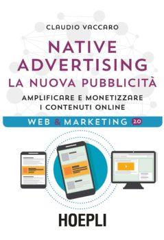 Il libro sul Native Advertising di Claudio Vaccaro