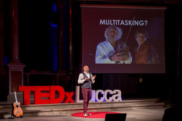 Claudio Vaccaro al TEDx Lucca
