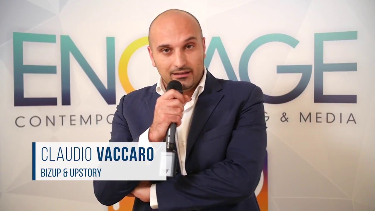 Native advertising: Claudio Vaccaro di UpStory allo Showcase di Engage